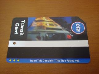 CTAトランジットカード