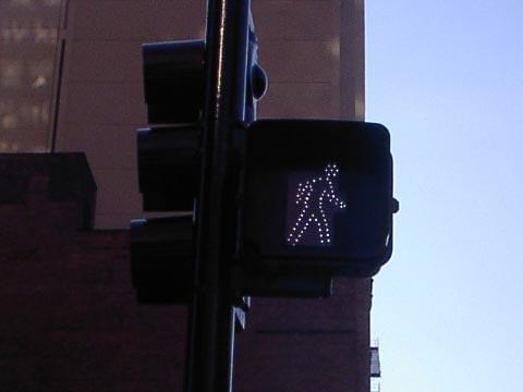 横断歩道の信号
