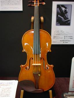 橋本剛俊さんのヴァイオリン