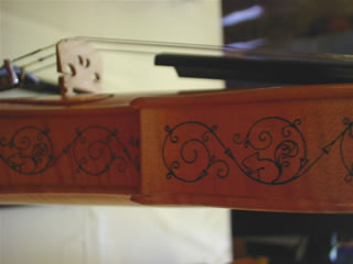 水野稔さんのヴァイオリンの細工