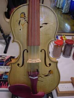 観音ヴァイオリン