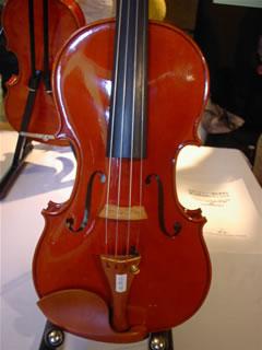 高橋明さんのヴァイオリン